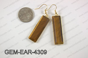 rectangle earring GEM-EAR-4309