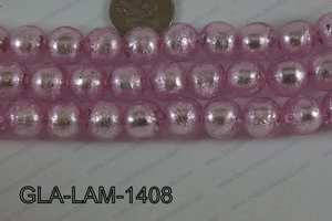 Glass Lampwork Light Pink 14mm GLA-LAM-1408