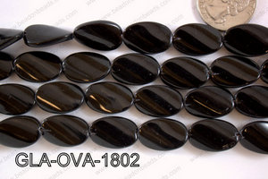 Glass Oval 18x13mm GLA-OVA-1802