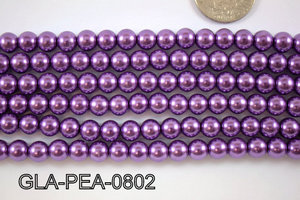 Glass Pearl 8mm GLA-PEA-0802