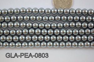 Glass Pearl 8mm GLA-PEA-0803