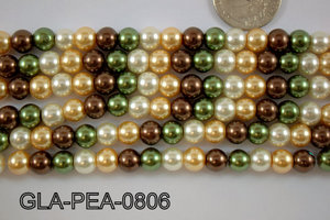 Glass Pearl 8mm GLA-PEA-0806