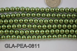 Glass Pearl 8mm GLA-PEA-0811