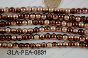 Glass Pearl 8mm GLA-PEA-0831
