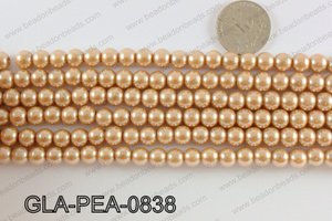 GLASS PEARL 8MM GLA-PEA-0838