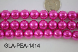 Glass Pearl 14mm GLA-PEA-1414