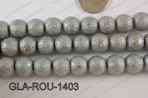Glass Round 14mm grey GLA-ROU-1403