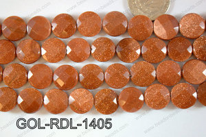 Goldstone Coin 14mm GOL-RDL-1405