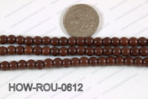 Howlite Round Brown 6mm HOW-ROU-0612
