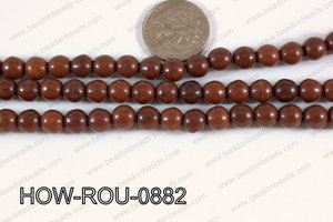 Howlite Round Brown 8mm HOW-ROU-0882