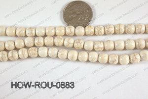 Howlite Round White 8mm HOW-ROU-0883