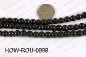 Howlite Round Black 8mm HOW-ROU-0889