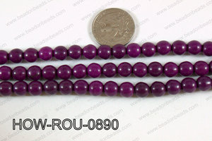 Howlite Round Purple 8mm HOW-ROU-0890
