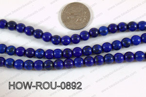 Howlite Round Dark Blue 8mm HOW-ROU-0892