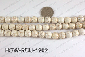 Howlite Round White 12mm HOW-ROU-1202