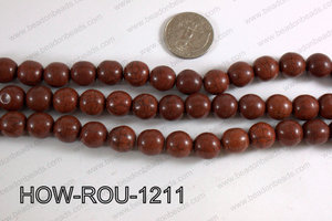 Howlite Round Brown 12mm HOW-ROU-1211