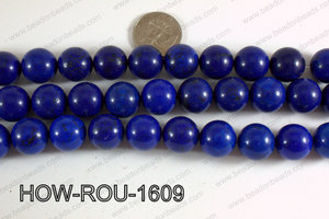 Howlite Round Dark Blue 14mm HOW-ROU-1609