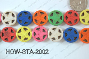 Howlite Star 20mm HOW-STA-2002
