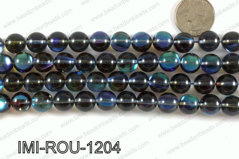 Imitation Labradorite 12mm IMI-ROU-1204