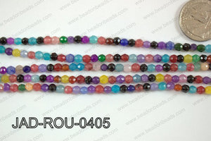 Jade Faceted Round 4mm JAD-ROU-0405