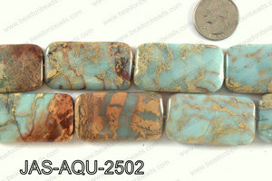JASPER AQUA TERRA RECTANGLE 25 X45 MM JAS-AQU-2502