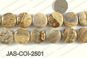 Picture Jasper Coin 25mm JAS-COI-2501