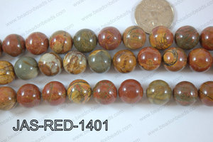Jasper Red Creek Round 14mm JAS-RED-1401