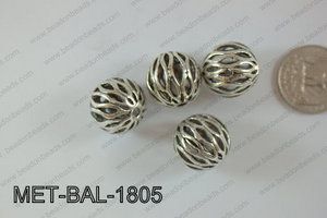 Metal Balls 24pcs 18mm MET-BAL-1805