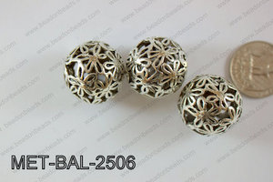 Metal Balls 12pcs 25mm MET-BAL-2506