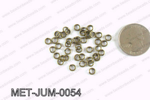 5MM Bronze open Jump ring MET-JUM-0054