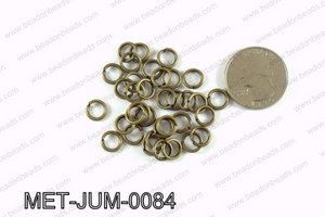8MM Bronze open Jump ring MET-JUM-0084