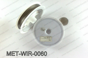 Gray Steel beading wire 0.60mm MET-WIR-0060