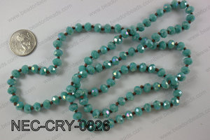 8mm crystal necklace NEC-CRY-0826