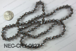 8mm crystal necklace NEC-CRY-0827