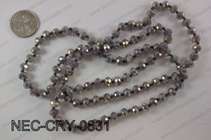 8mm crystal necklace NEC-CRY-0831