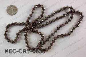8mm crystal necklace NEC-CRY-0835