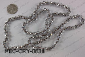 8mm crystal necklace NEC-CRY-0838