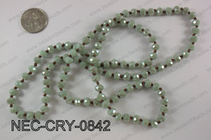 8mm crystal necklace NEC-CRY-0842