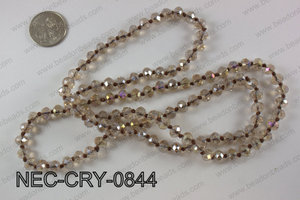 8mm crystal necklace NEC-CRY-0844