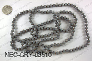 8mm crystal necklace NEC-CRY-08510