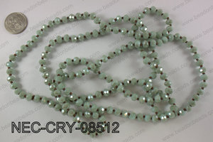 8mm crystal necklace NEC-CRY-08512