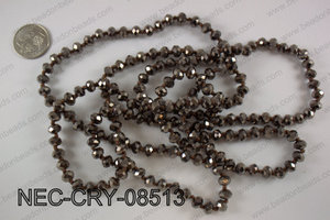 8mm crystal necklace NEC-CRY-08513