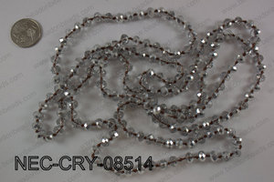 8mm crystal necklace NEC-CRY-08514