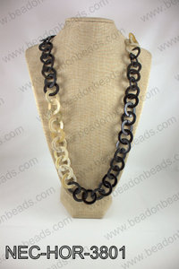 Horn necklace NEC-HOR-3801