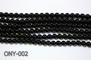 Black Onyx Round 6mm ONY-002
