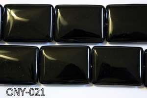 Black Onyx Rectangle 30x40mm ONY-021