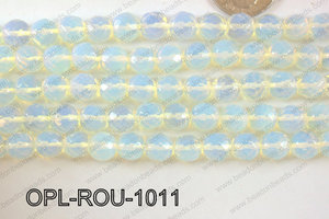 Opal Lite Round Faceted 10mm OPL-ROU-1011