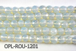 Opal Lite Faceted Round 11-12mm 16''  OPL-ROU-1201
