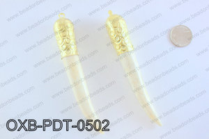 Ox Bone PendantOXB-PDT-0502