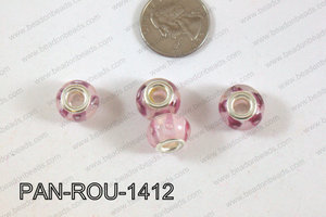 Pandora beads 14x10mm 5mm hole PAN-ROU-1412